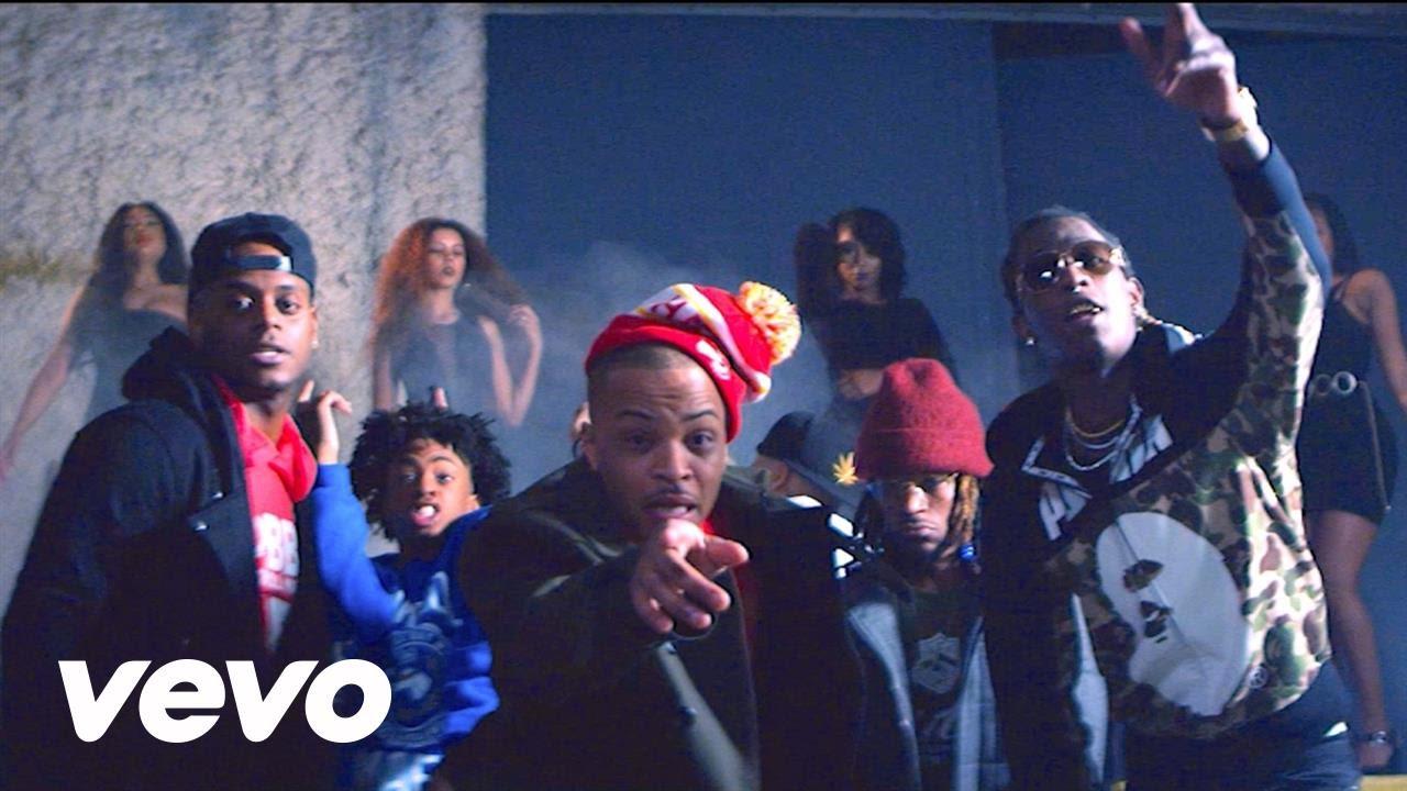Bankroll Mafia Feat. T.I., Shad Da God, Young Thug & London Jae – Out My Face (Video)