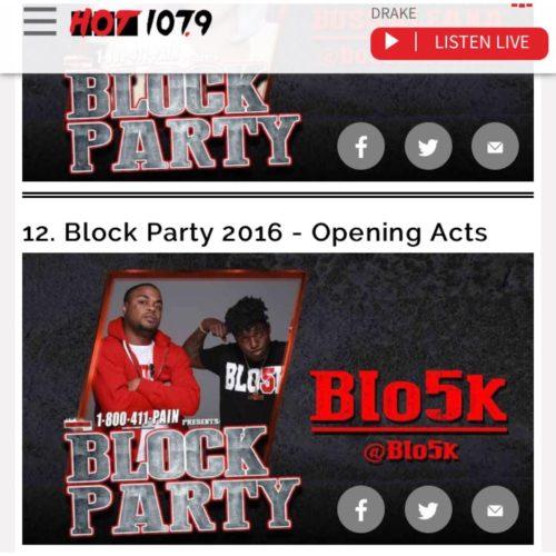 Blo5k blo5k party pic 2016