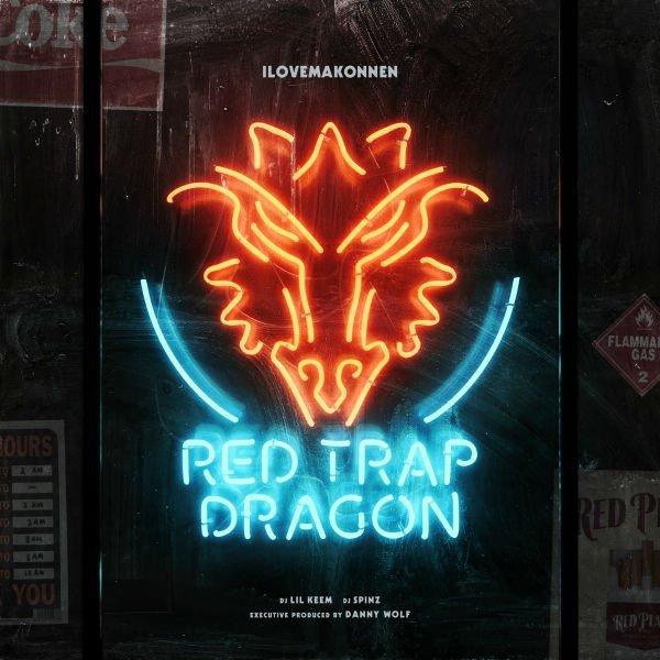 ILOVEMAKONNEN – Red Trap Dragon [Mixtape]