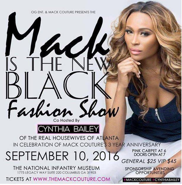 (September 10th) Mack Is The New Black Fashion Show in Columbus, GA