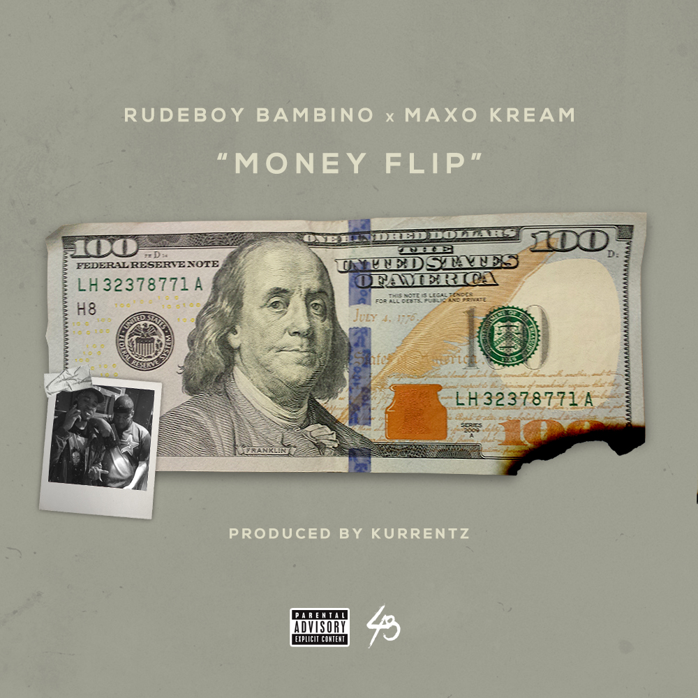 "Houston rappers Rudeboy Bambino & Maxo Kream Links Up For  ""Money Flip"""