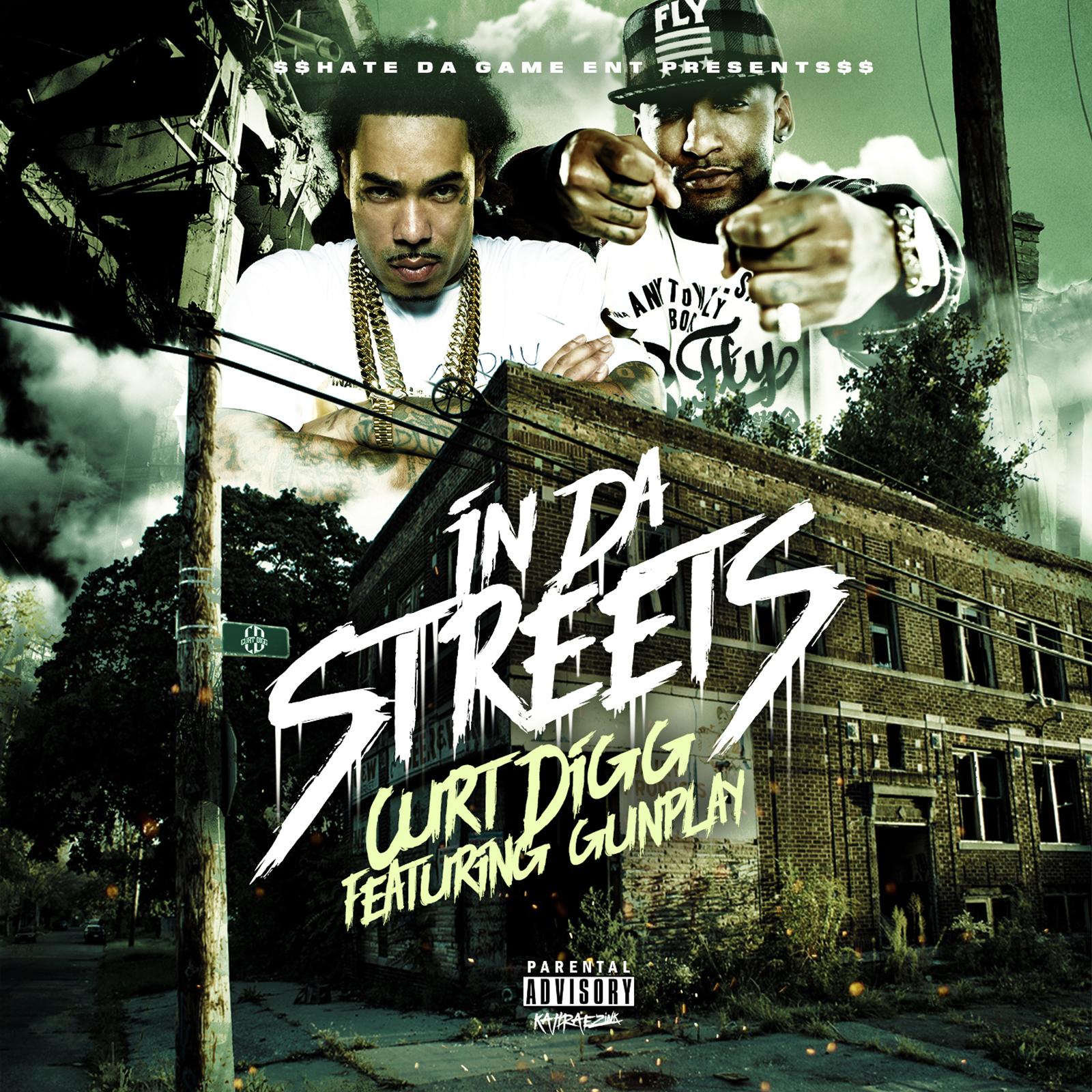 "Curt Digg – ""In Da Streets"" Feat. Gunplay"