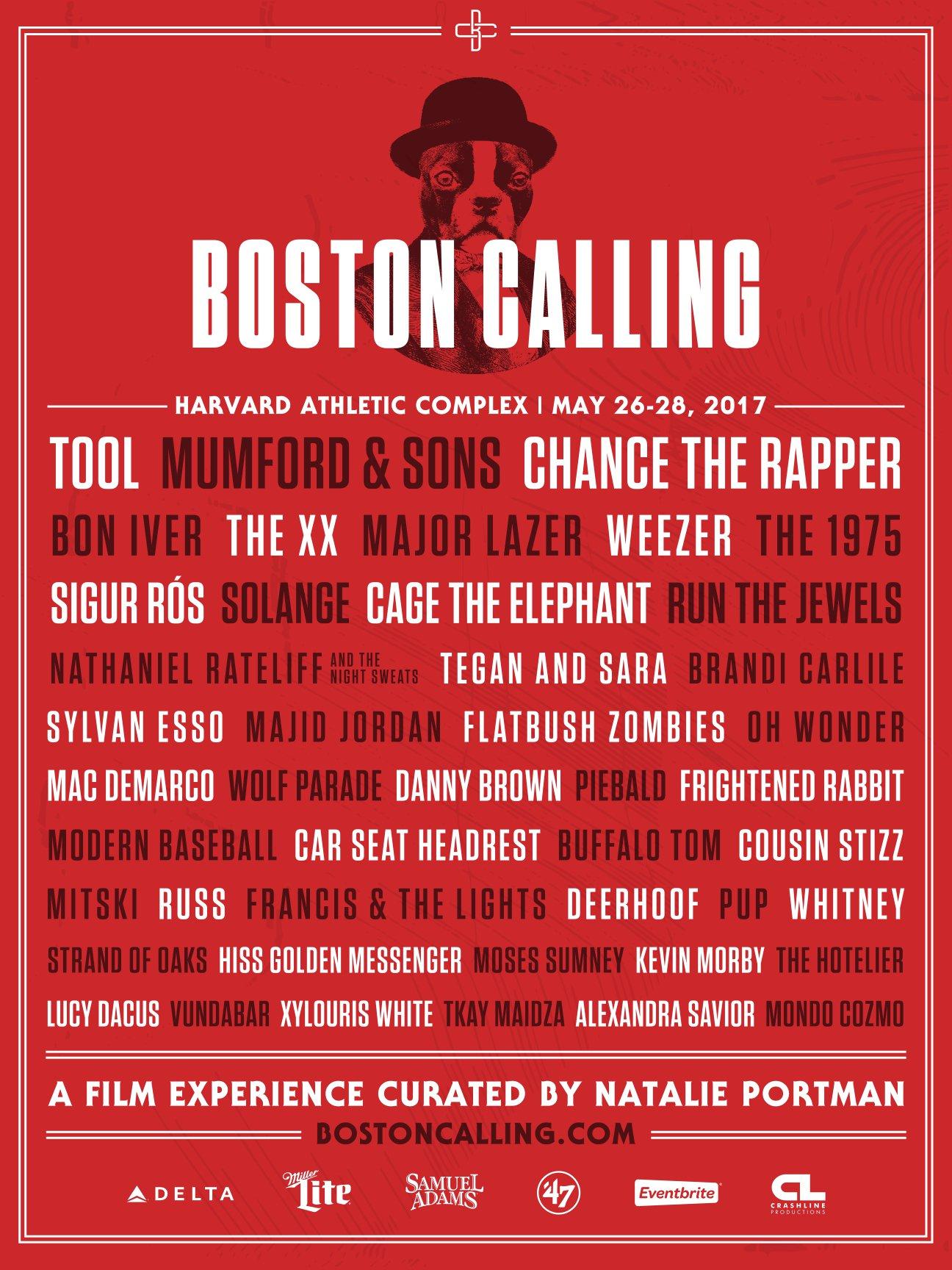 Boston Calling Announces 2017 Lineup