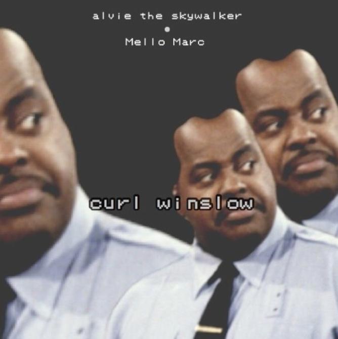 """Alvie The Skywalker – """"Curl Winslow (Prod. By Mello Marc)"""""""