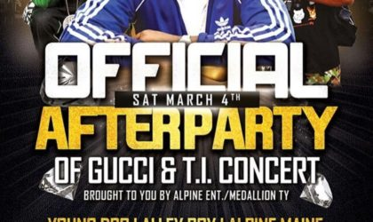 Official After Party at Columbus, GA
