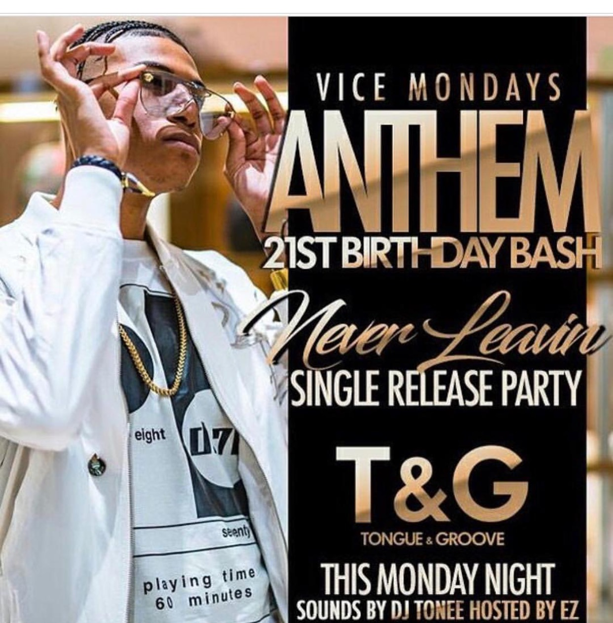 (March 6th) #ViceMondays at Tongue & Groove – ATL, GA
