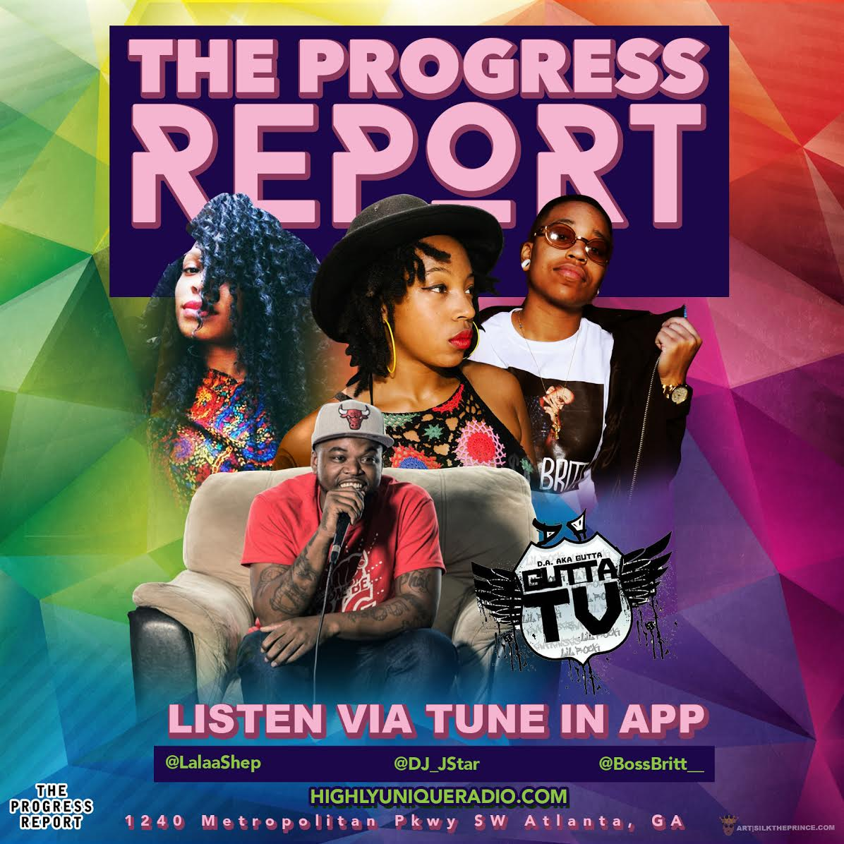 The Progress Report Wednesdays 9PM-11PM (Podcast) FT Gutta TV & Lil Mikey TMB