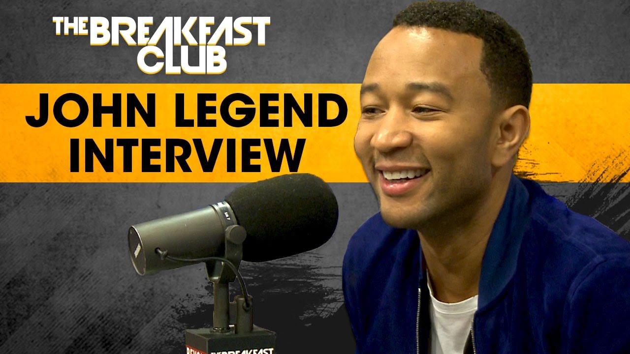 John Legend Speaks On Family Values, Colin Kaepernick, Bill O'Reilly & More on The Breakfast Club
