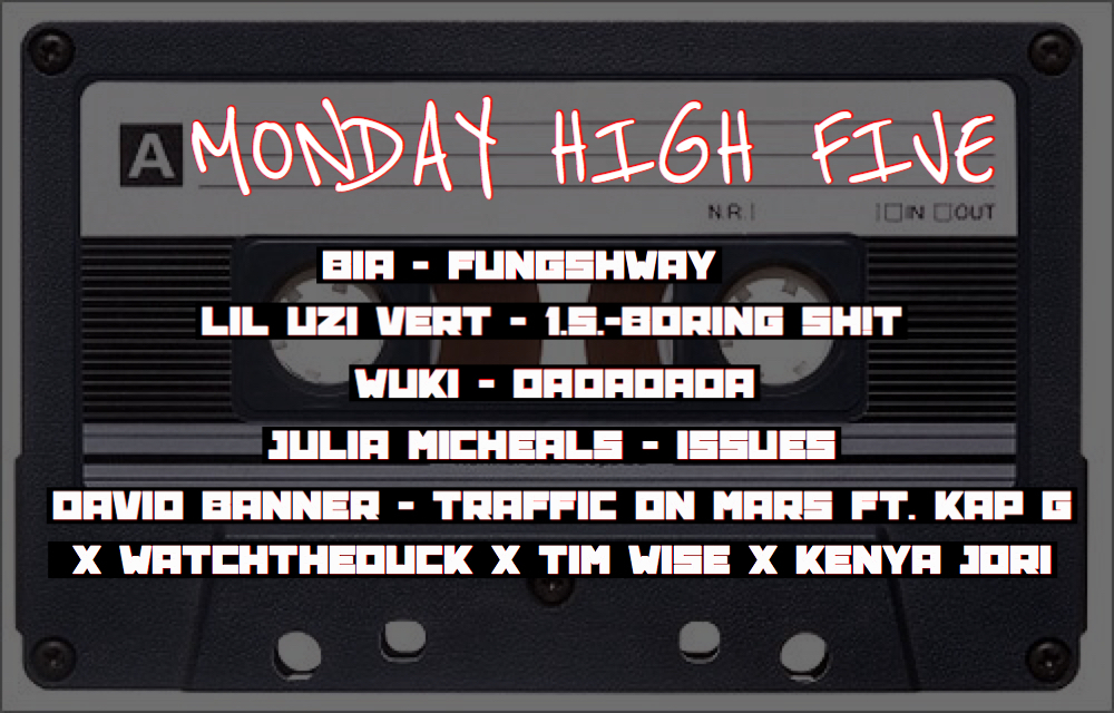 KP The Great Releases New Monday High Five with Sounds from David Banner, Bia, Lil Uzi Vert and More!