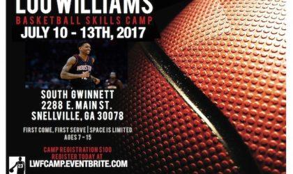 {SUMMER CAMP} NBA Star Lou Williams Hosts Annual Youth Basketball Skills Camp in Atlanta July 10 – 13th