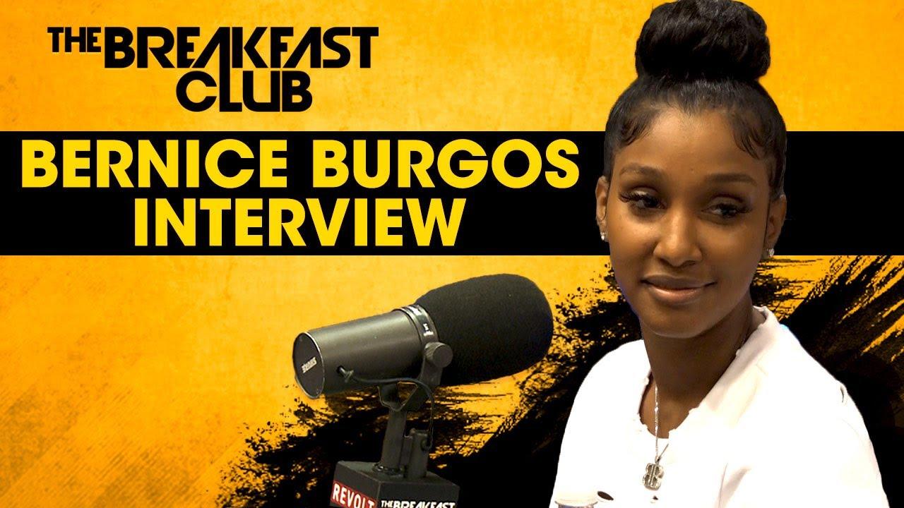 Bernice Burgos Addresses Dating Rumors, Plastic Surgery & Entrepreneurship on The Breakfast Club