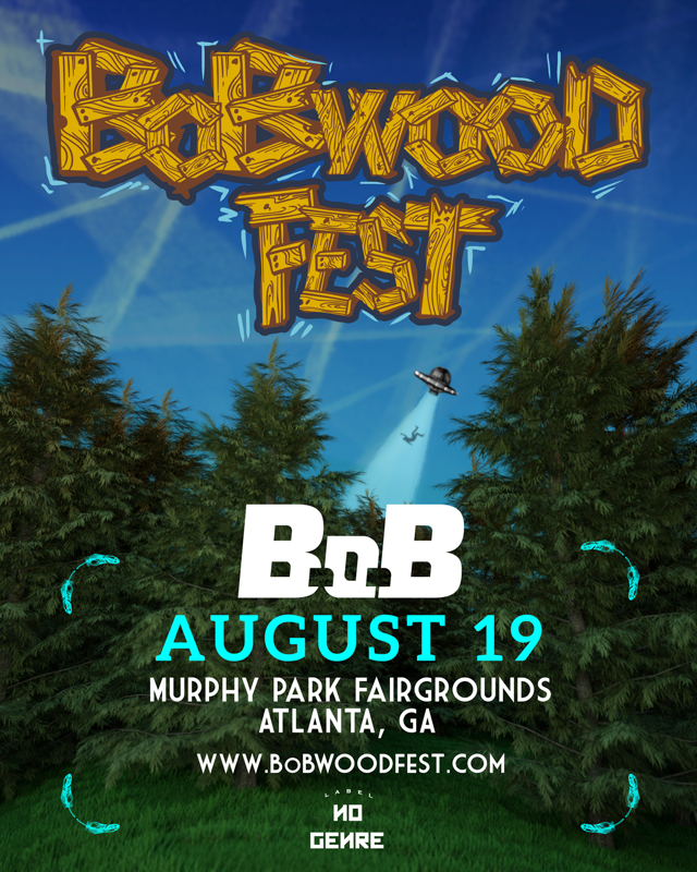 B.o.B Announces Third Annual BoBWood Fest In Atlanta August 19th