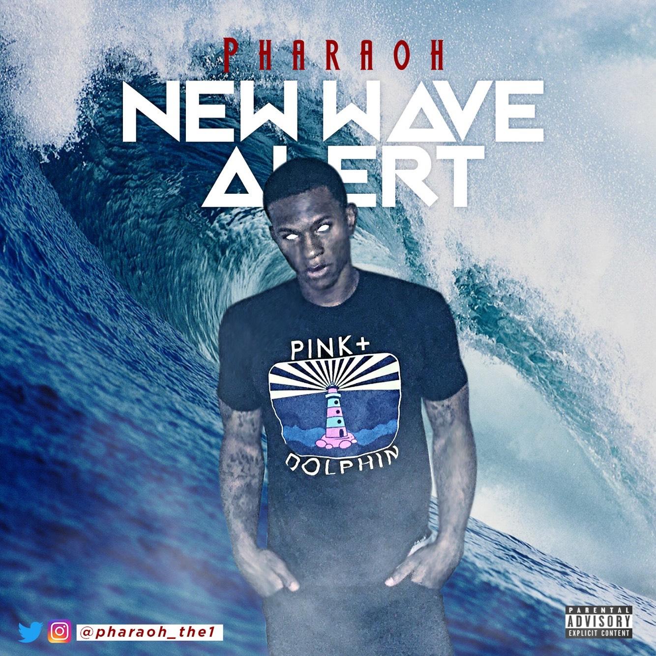 "Columbus, GA native Pharaoh drops his latest track ""New Wave Alert."""