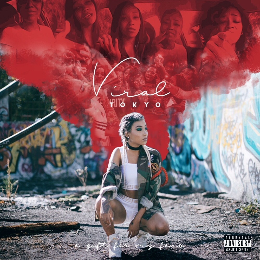 Hustle Gang's Own Tokyo Jetz Releases her Debut Project 'Viral' & Hosts a Viral IG Live Listening Session with T.I.