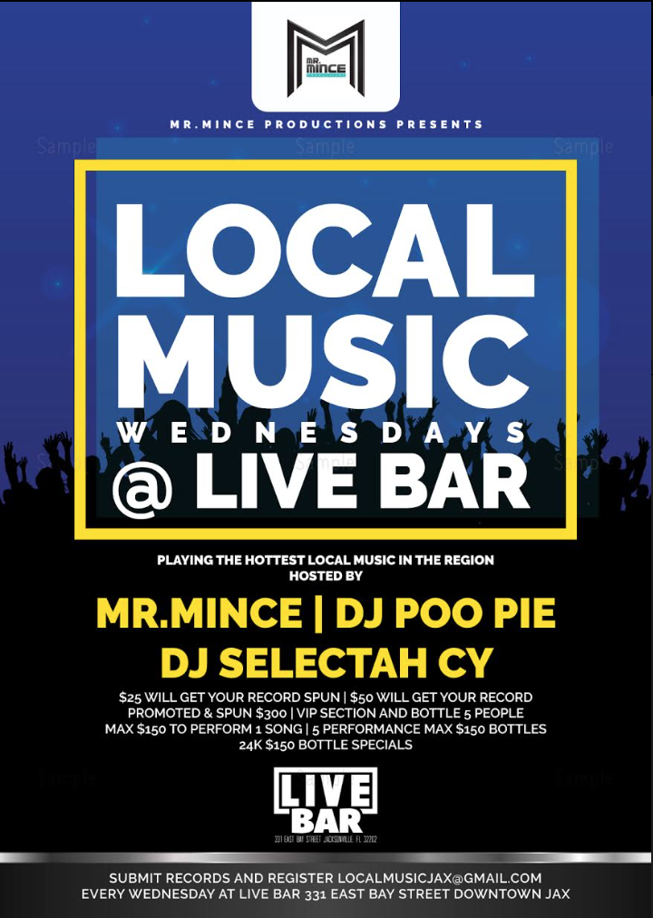 Event: Check Out Local Music Wednesday's at Live Bar