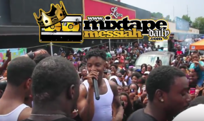 21 Savage & Spotify Has His 2nd Annual Back 2 School Drive In East Atlanta