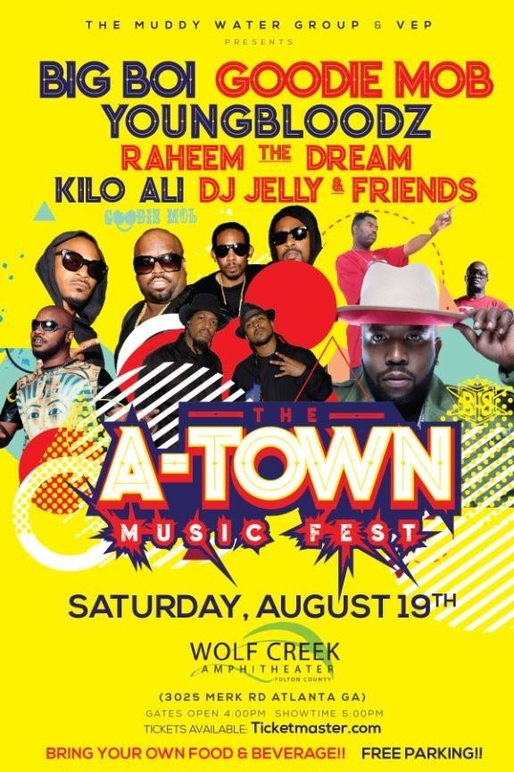 KP The Great Takes The Stage Along With Big Boi, Goodie Mob & More For The First-Ever 'A-Town Music Fest' This Weekend