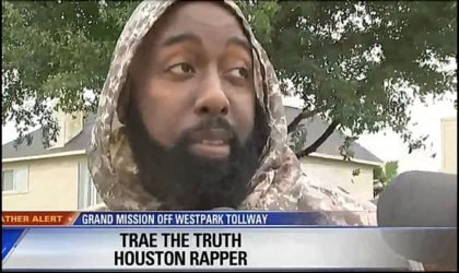 Houston Legend Trae Tha Truth Dives Right In to Save Victims of Hurricane Harvey Including NBA Guard Jonathon Simmons