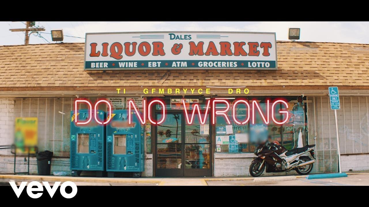 """Hustle Gang – """"Do No Wrong"""" feat. GFMBRYYCE, Young Dro, T.I. [Music Video]"""