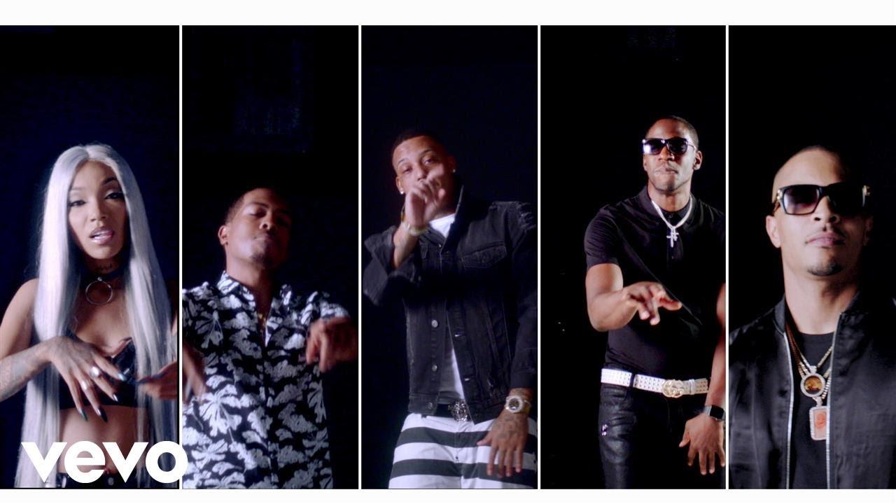 Hustle Gang – Friends (feat. T.I., Rara, Brandon Rossi, Tokyo Jetz & Young Dro)[Music Video]