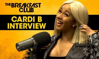 Cardi B. On Her BET Nominations, Nicki Minaj, Dating Offset & Keeping It Hood on The Breakfast Club