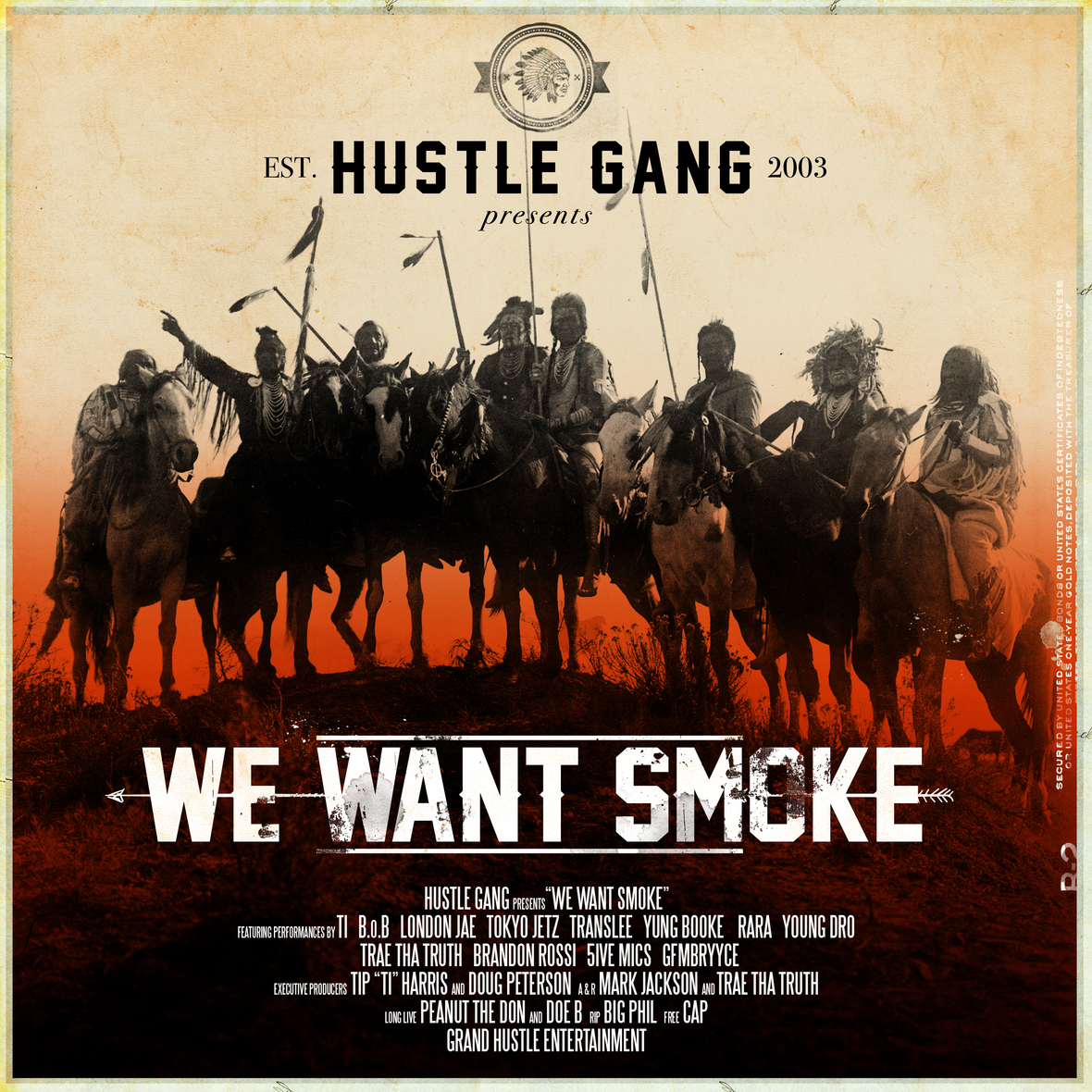 "Tip ""T.I."" Harris Introduces Hustle Gang with Their Debut We Want Smoke Album"