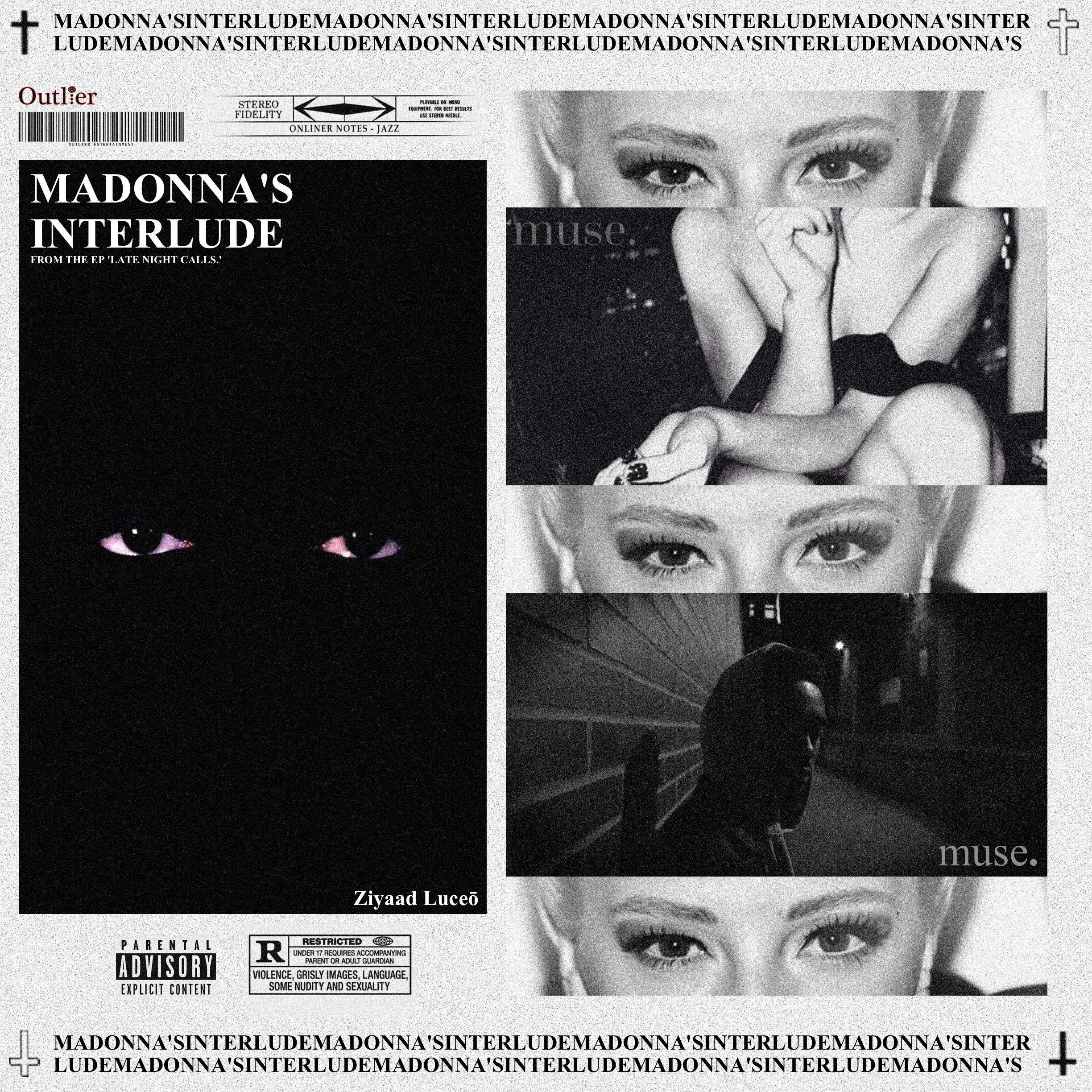 """Toronto's up and coming R&B artist, Ziyaad Luceō, releases his final single """"Madonna's Interlude"""" from his forthcoming debut EP, """"Late Night Calls""""."""