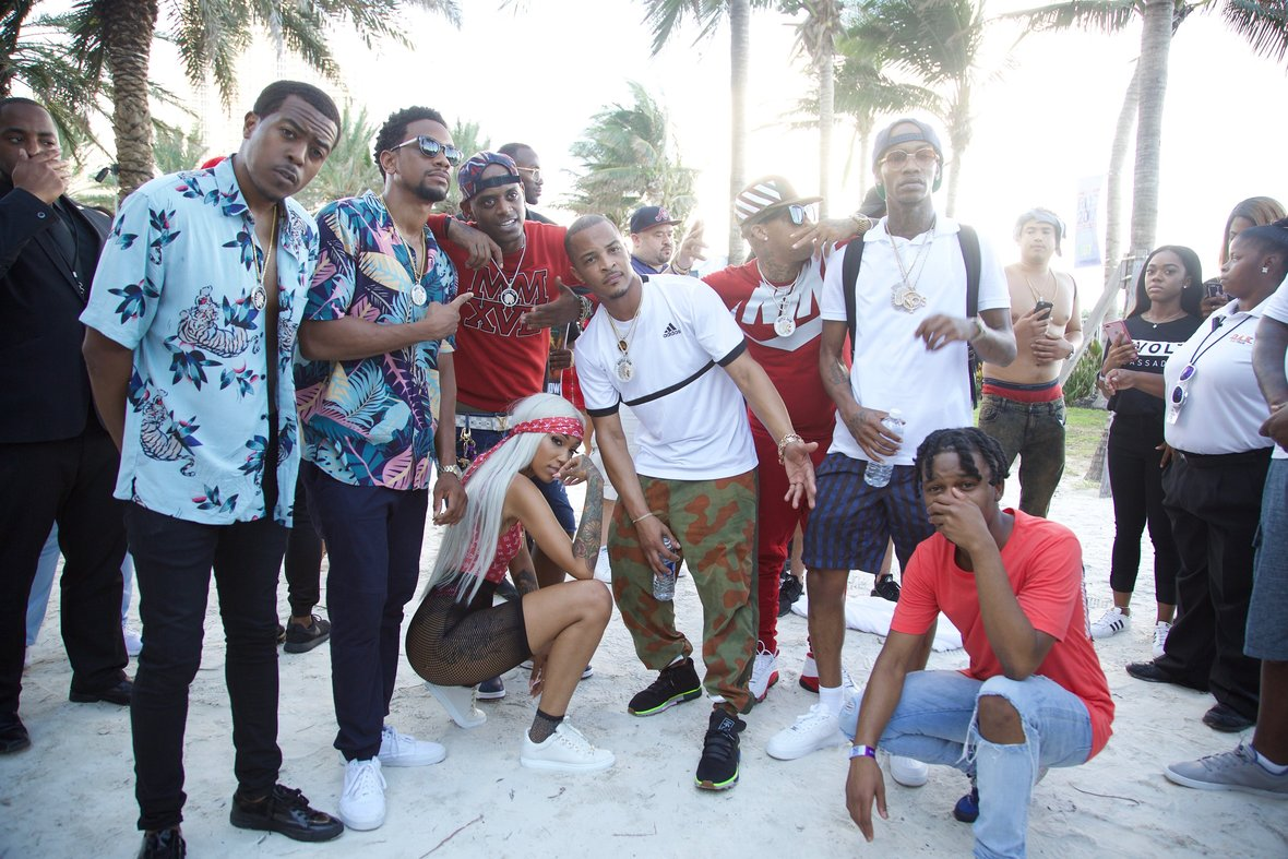 "Tip""T.I."" Harris Along With the Hustle Gang Family Shuts Down the 4th Annual Revolt Music Conference in Miami"