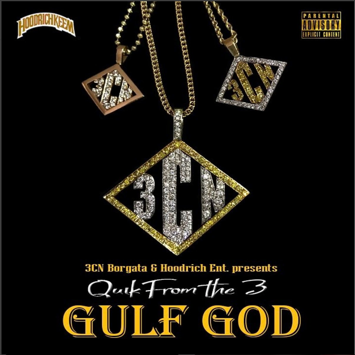 Quik From The 3 – Gulf God Mixtape + Through The Roof Visual