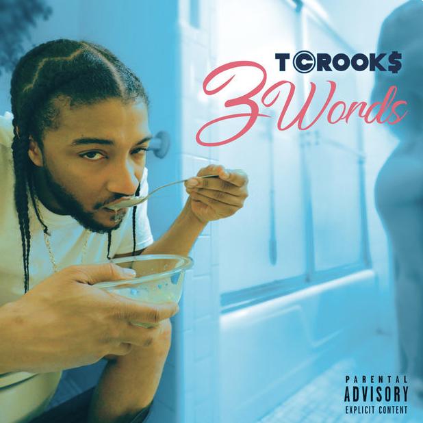 "Newport News, VA native T Crook$ Release  Lyric Video for ""3 Words """