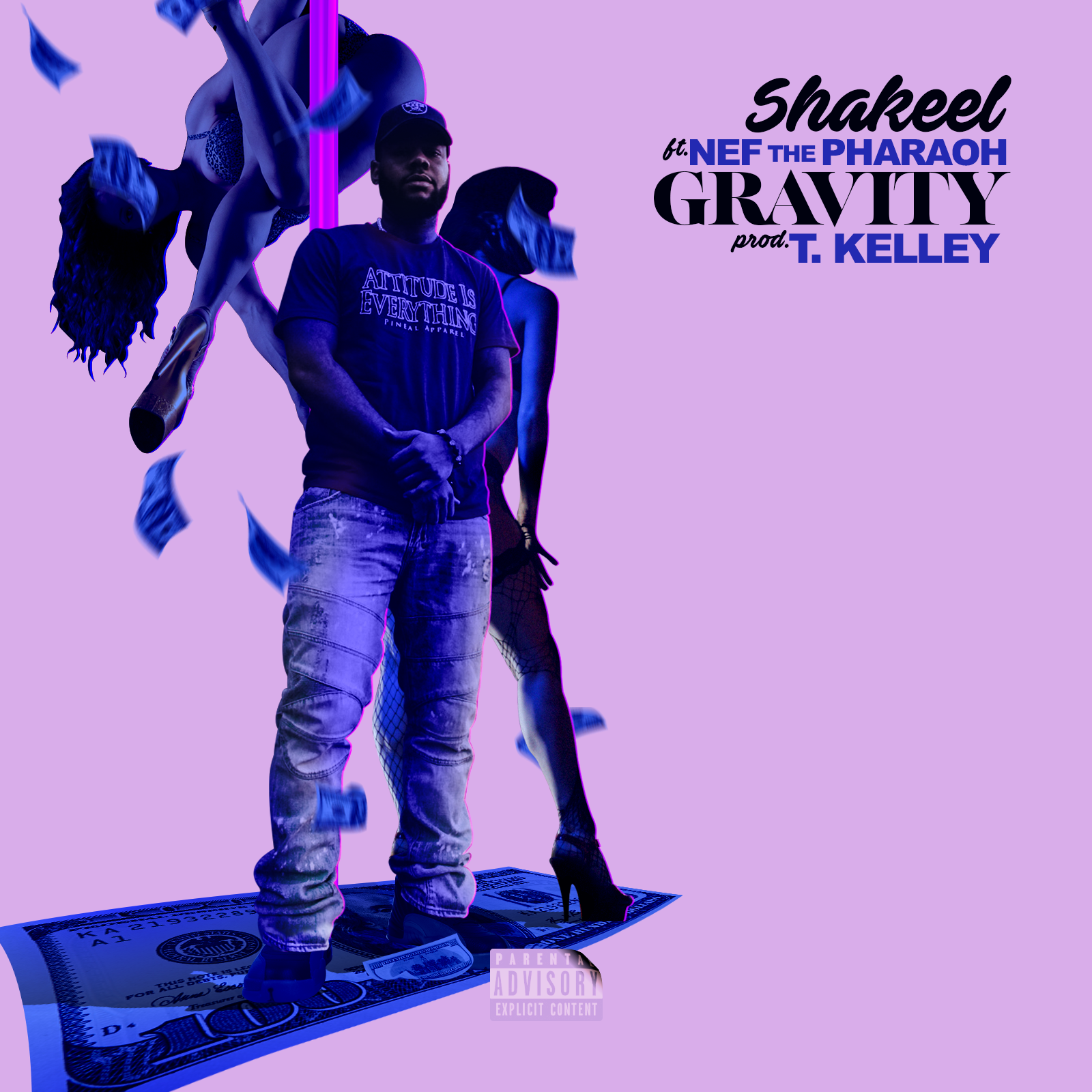 "Shakeel's latest single featuring Nef The Pharoh titled ""Gravity"""