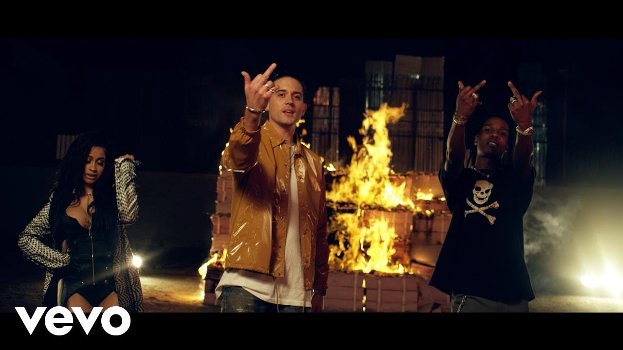 G-Eazy – No Limit (Remix) (feat. A$AP Rocky, Cardi B, French Montana, Juicy J & Belly)[Video]