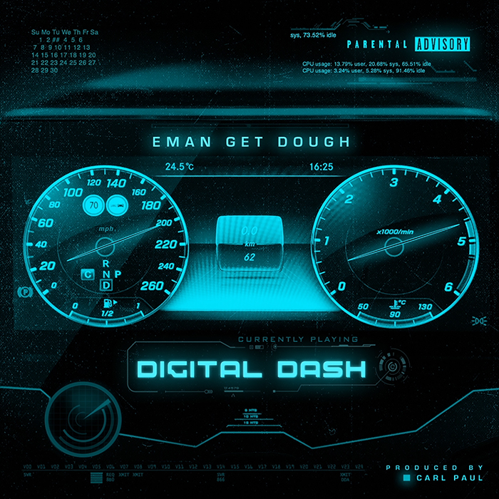 "Rich Homie Quan Collaborator Eman Get Dough Drops ""Digital Dash"""