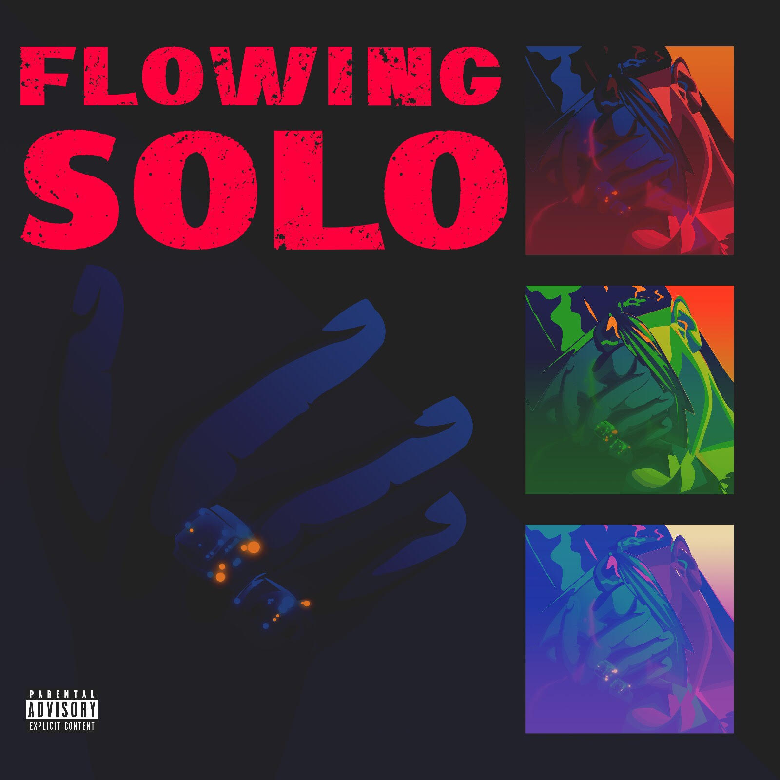 """NYC artist Tsunami Tommy Deliver Visual for """"Flowing Solo"""""""