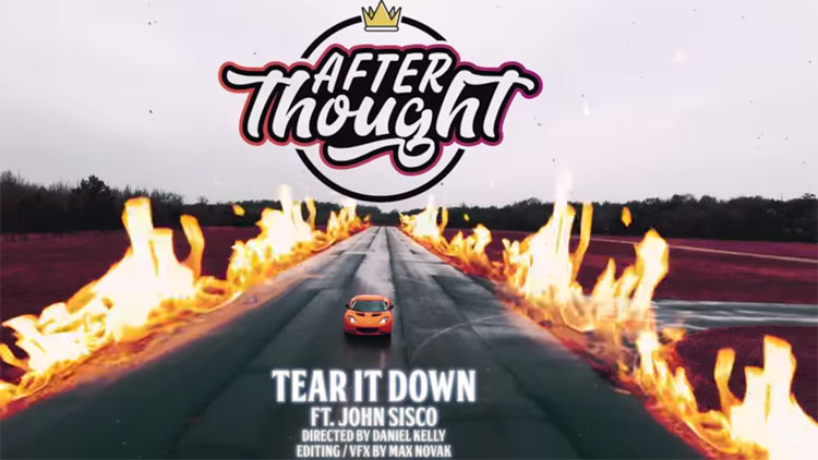 DJ Afterthought feat. John Sisco – Tear It Down [Video]
