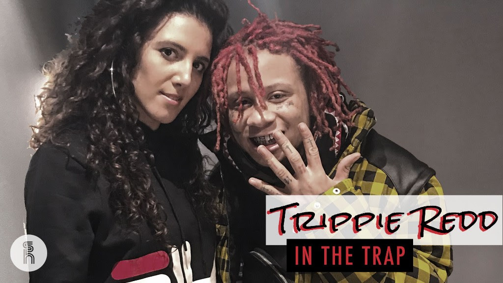 "TRIPPIE REDD opens up about his industry relationships on The Sarah Harrison Show: ""Stay alone, just vibe by yourself"""